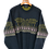 Thumbnail: Charcoal Knitted 80s Crewneck XXL