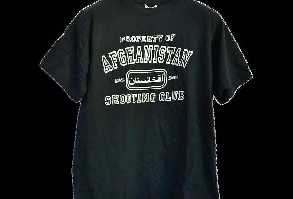 Afghanistan War Shooting Club Tee L