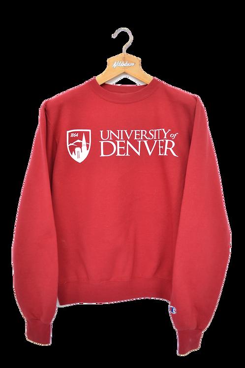 Champion University of Denver, Colorado Crewneck M