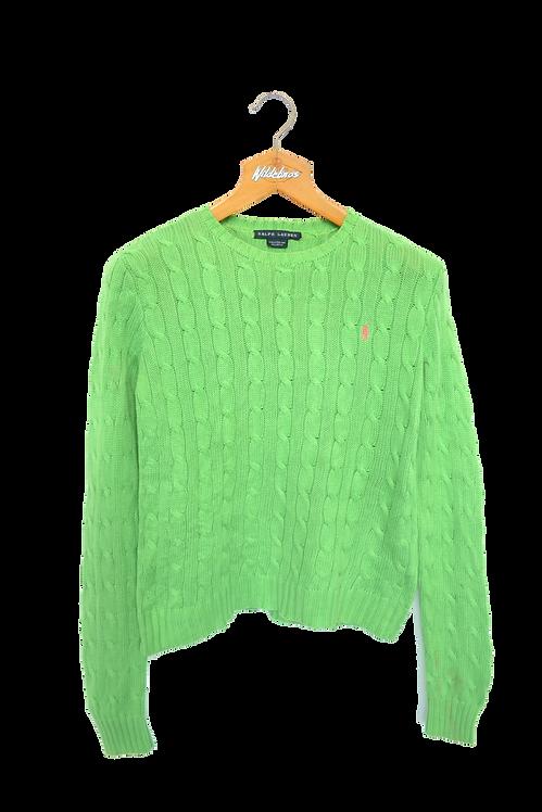 Ralph Lauren Pistache Knitted Sweatshirt S
