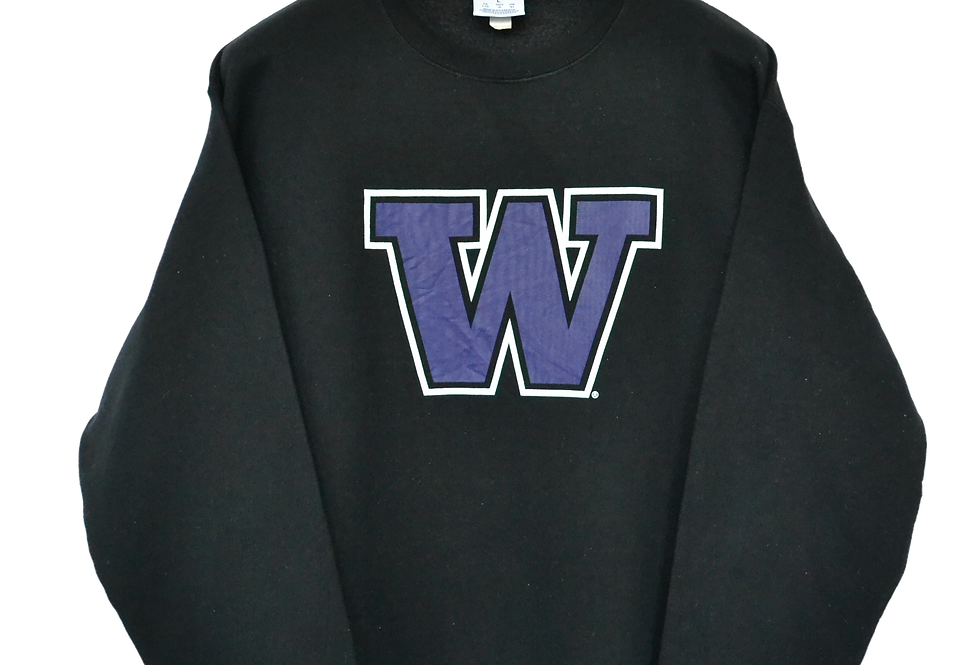 Champion Washington Huskies Logo Sweatshirt L