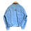 Thumbnail: Marlboro Classics 90s Denim/Leather Collar Jacket L