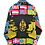 Thumbnail: Psychedelic Point Collar Shirt Navy XL