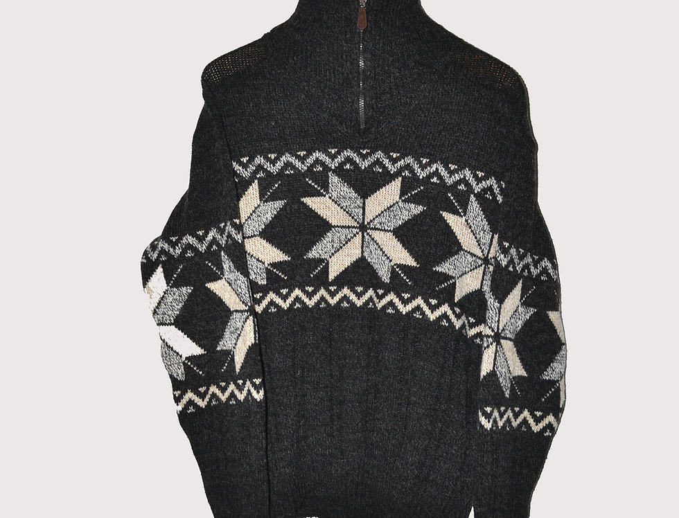 Knitted Jacket Stars L
