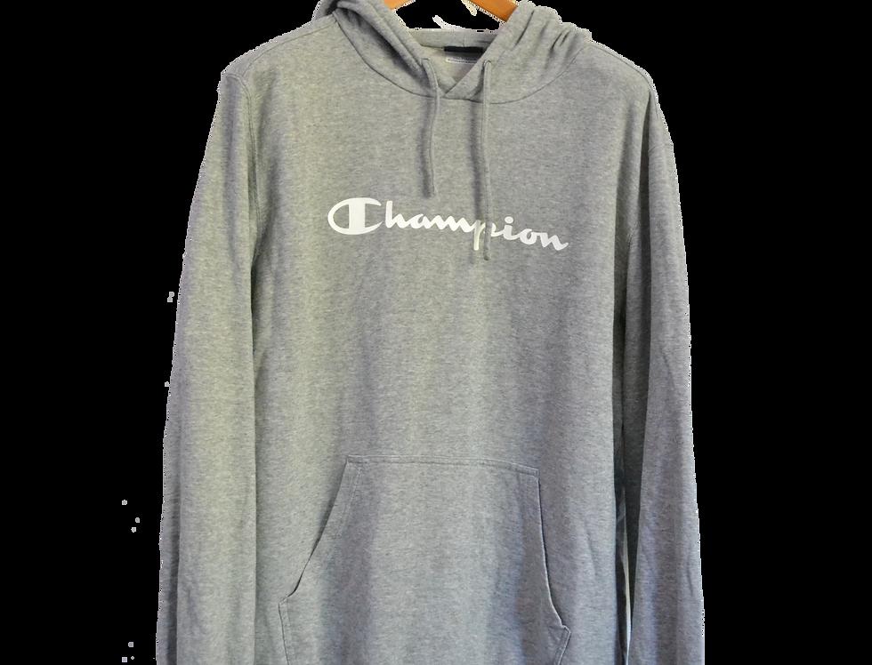 Champion Grey Logo Hoodie XXL