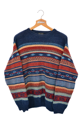 Knitted Captain Jumper L