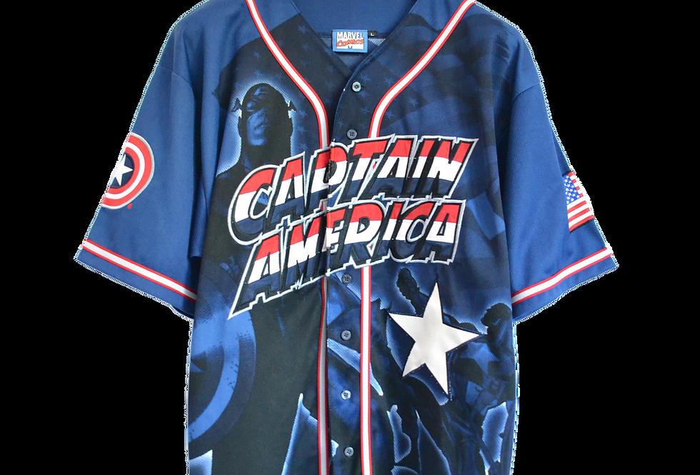 Marvel Comics TM & © 2002 Captain America Tee L