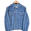 Thumbnail: Late 80's Denim Jacket L
