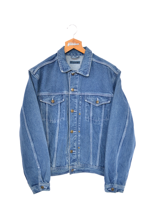 Late 80's Denim Jacket L