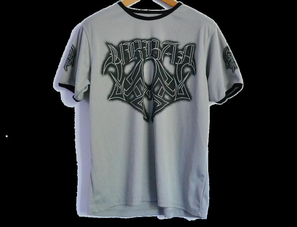 Y2K Tribal Urban Grey Tee XL