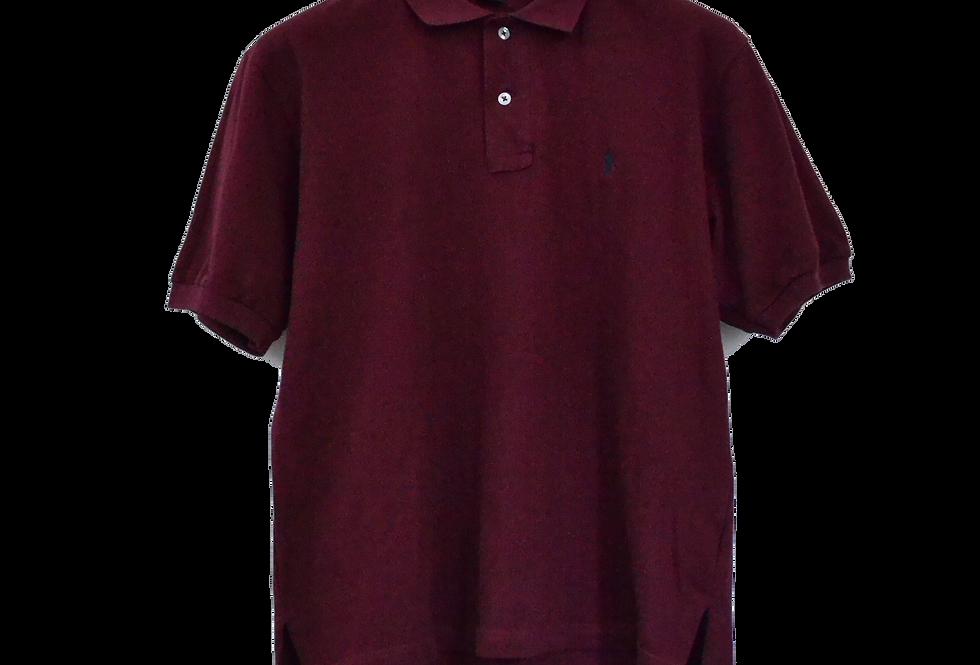 Ralph Lauren Bordeaux Polo M