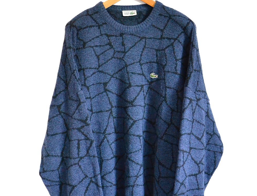 Lacoste 1996 Blue Magma Knitted Jumper XXL