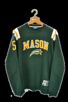 Champion Heritage Mason University Football Sweatshirt XL