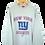 Thumbnail: Reebok NY Giants NFC Football Sweatshirt L