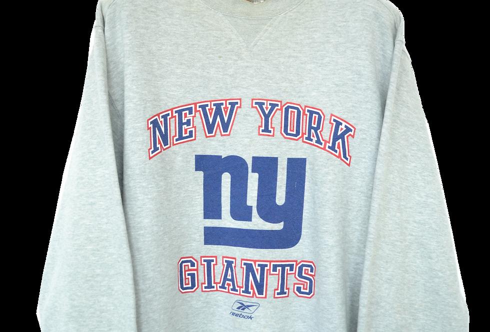 Reebok NY Giants NFC Football Sweatshirt L