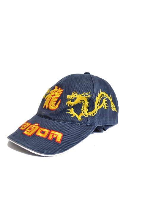 Embroidered Dragon Dad Cap