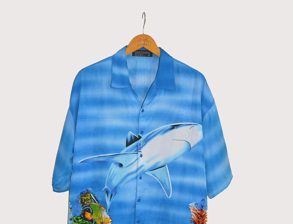 Full Print Shirt Shark XXL