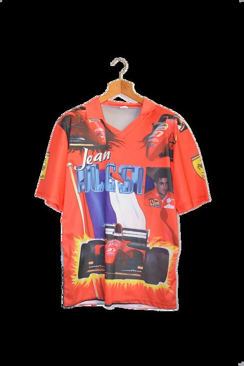 F1 Jean Alesi Ferrari Fan Tee XL