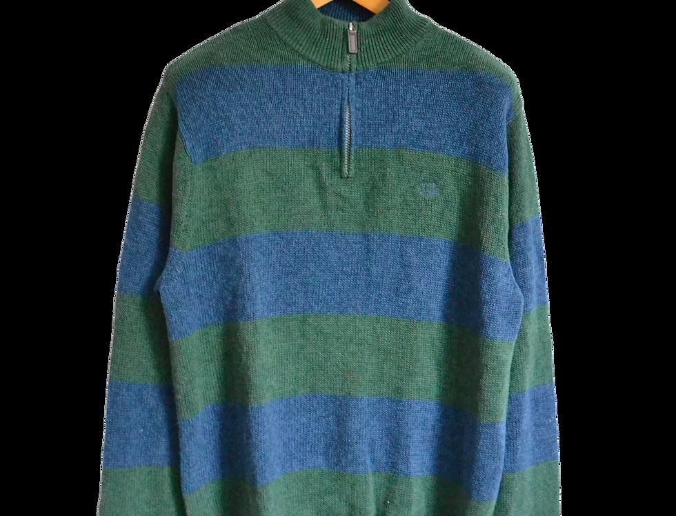Ralph Lauren Chaps Knitted Sweatshirt Blue/Green XL