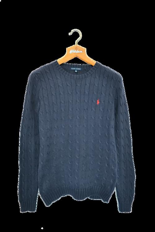 Ralph Lauren Knitted Sweatshirt Navy XS