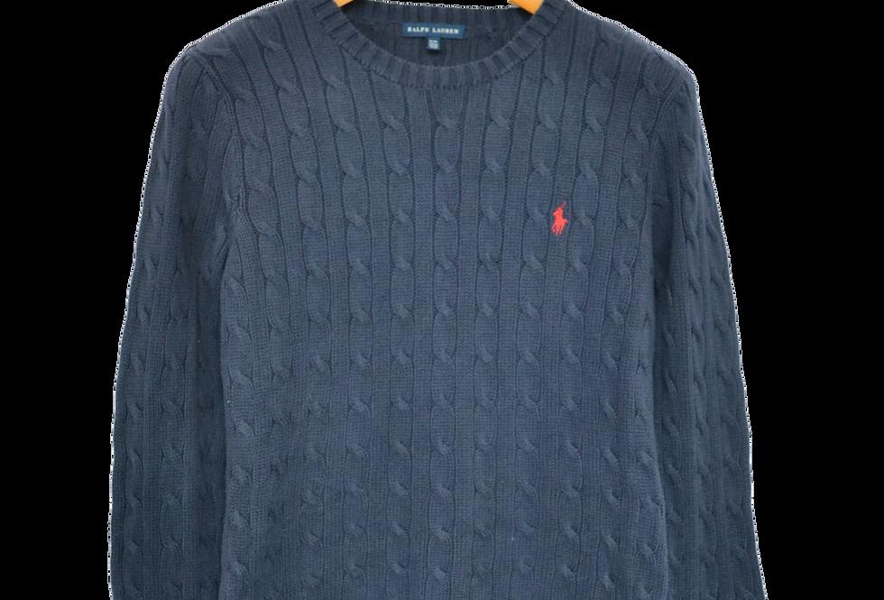 Ralph Lauren Knitted Sweatshirt Navy S