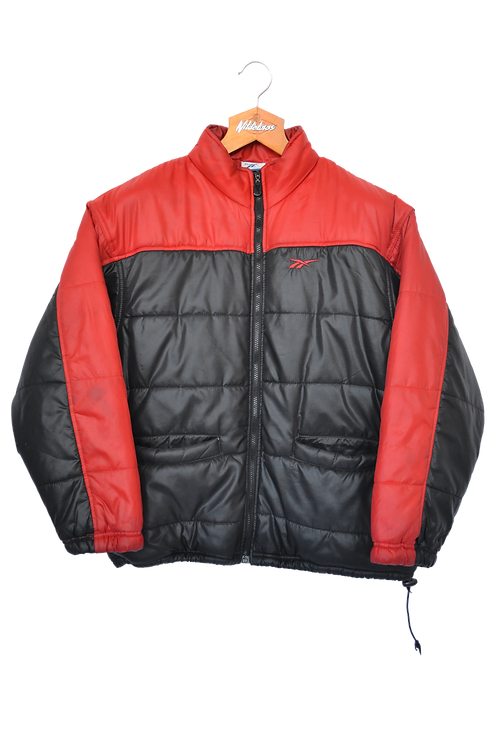 Early 00's Reebok Puffer Coat M