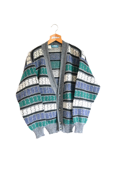 Italian Made Knitted Jacket M