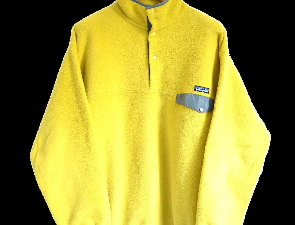 Patagonia 90s Fleece Jacket Yellow XL