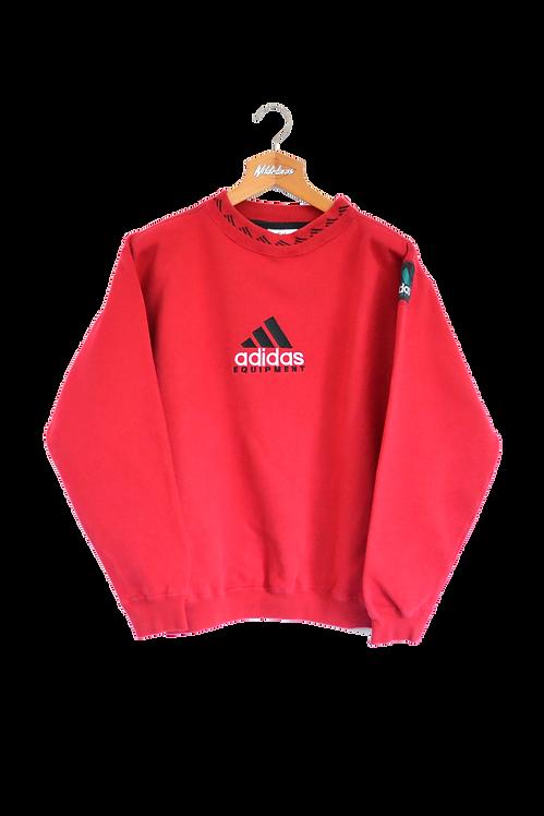 Adidas Equipment 90's Sweatshirt Red L