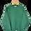 Thumbnail: Colourblock Plain Green Sweatshirt XL