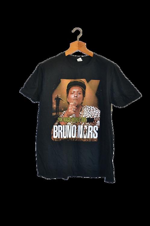 Bruno Mars 24kMagic World Tour Shirt