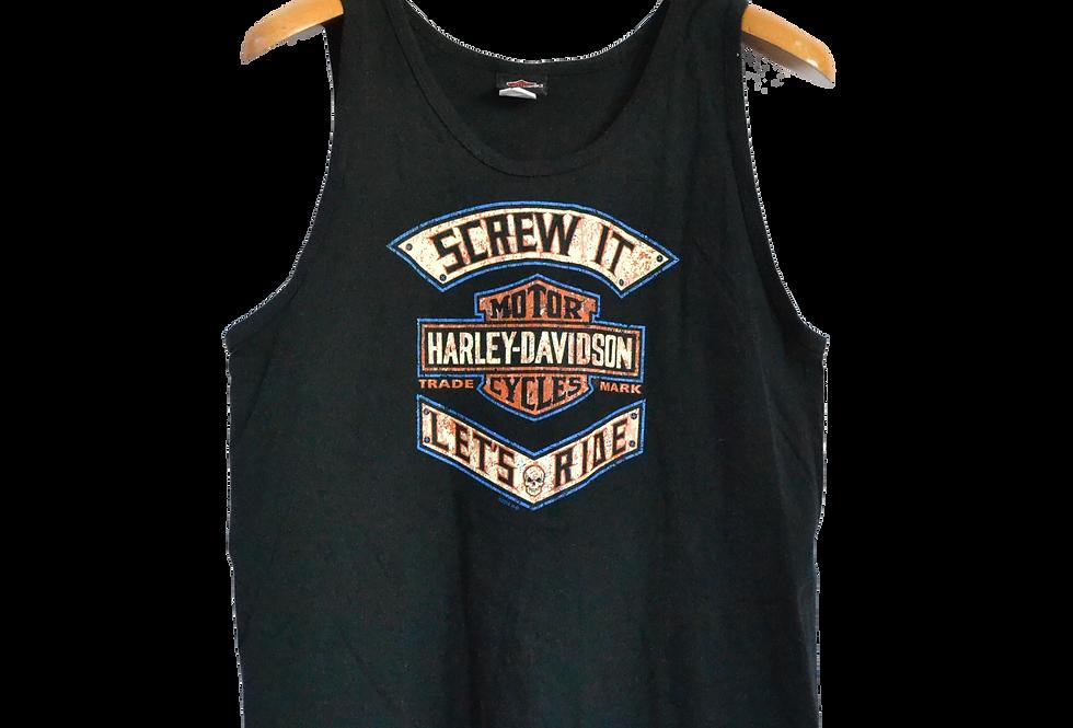Harley Davidson Rapper Sjors Fit Tanktop L