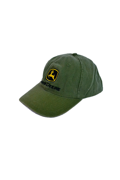John Deere Green Cotton Cap