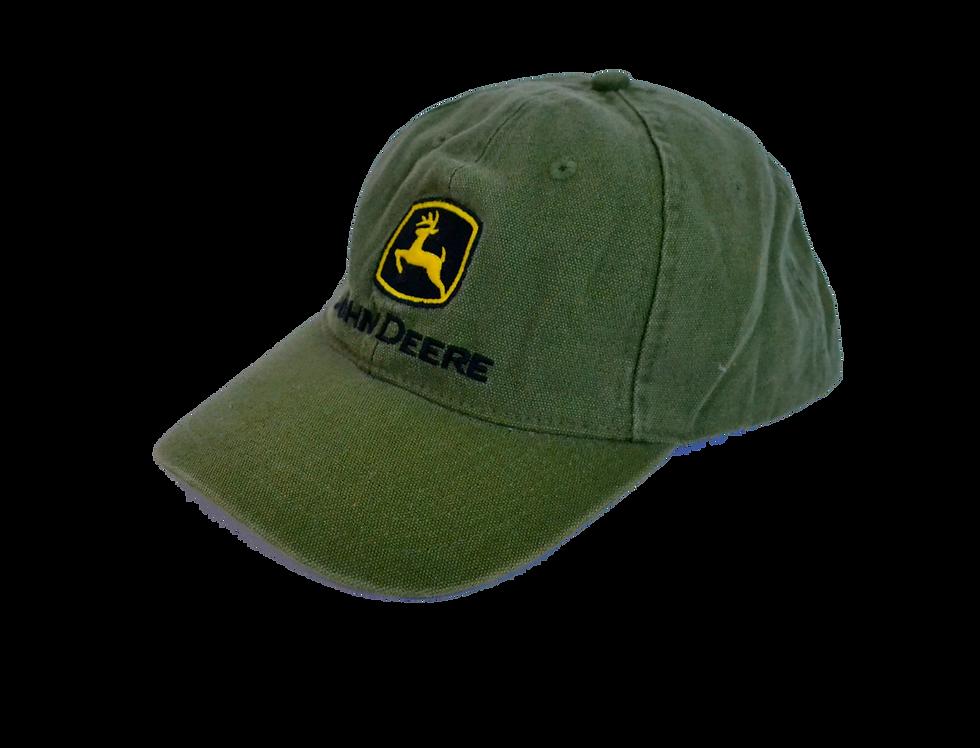 John Deere Green Cotton Cap