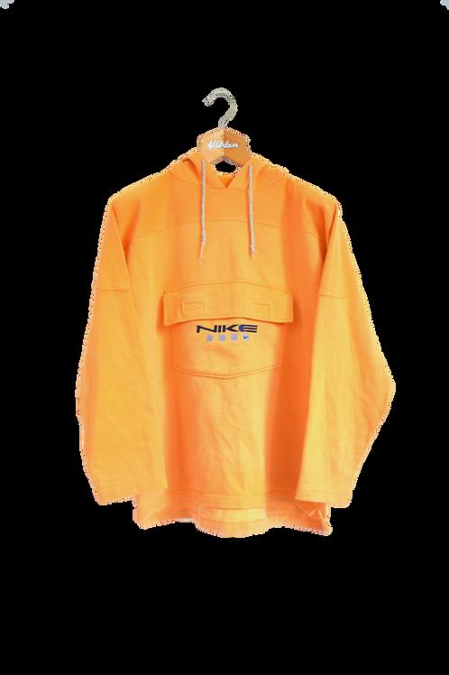Nike Kangaroo-pocket 90s Hoodie Carrot S