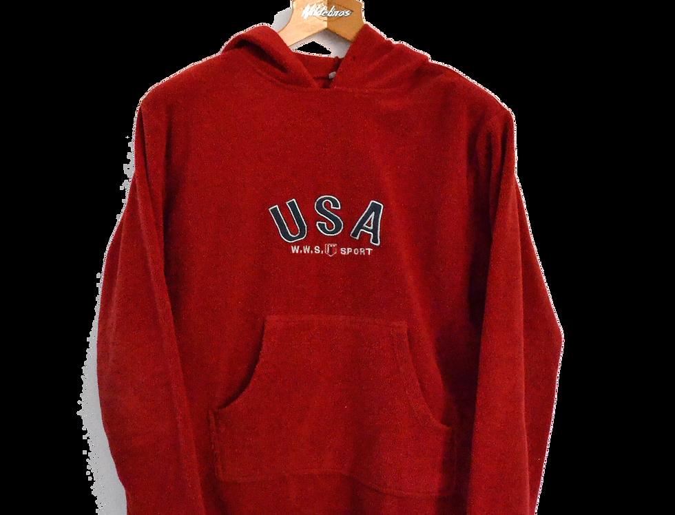 USA Fleece Hoodie XS