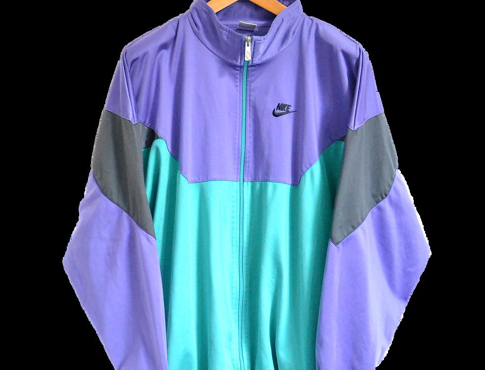 Nike 90s Track Jacket Purple/Green XXL