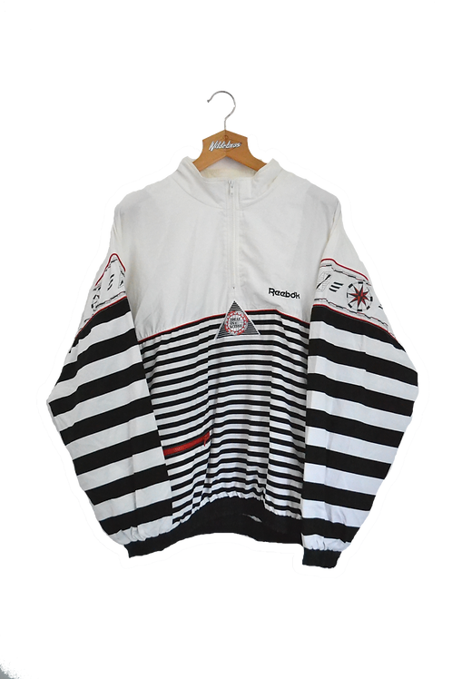 """Reebok 1/4 90's Track Jacket """"Ideas in Action"""" M"""