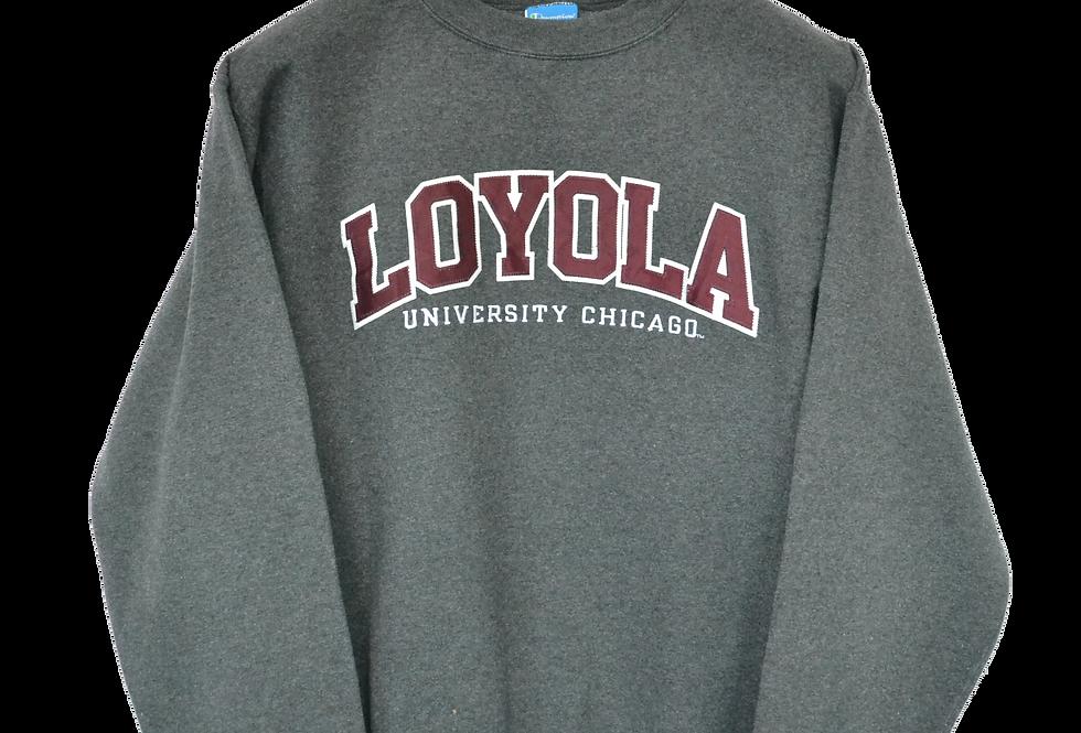 Champion Loyola University Chicago Spellout Crewneck M