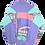 Thumbnail: Adidas 80s Pastel Quarter Zip S