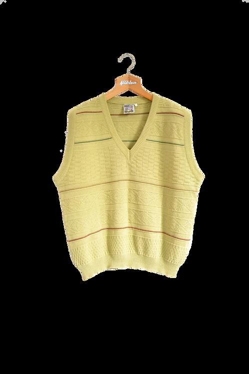 Knitted Mustard Spencer XL