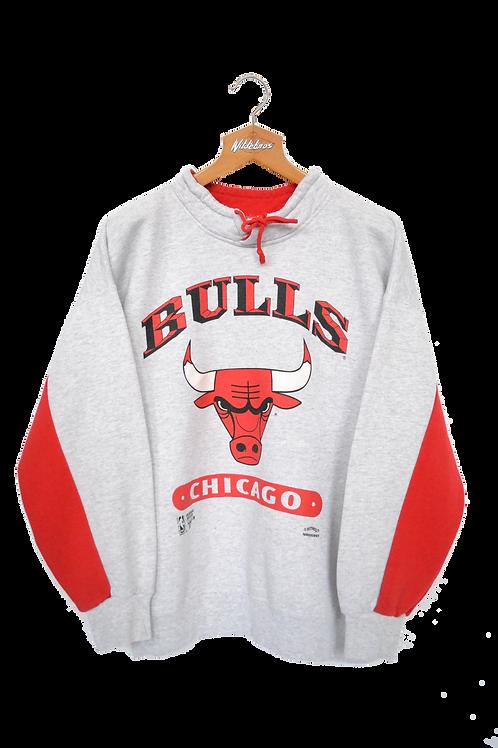 Original 1985 Chicago Bulls NBA Spellout Sweatshirt XL