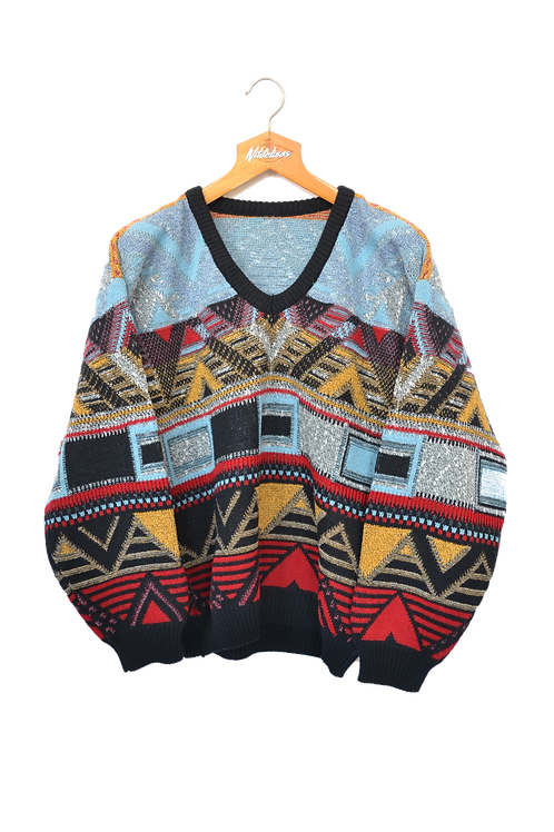 Inuit 80s knitted Jumper M