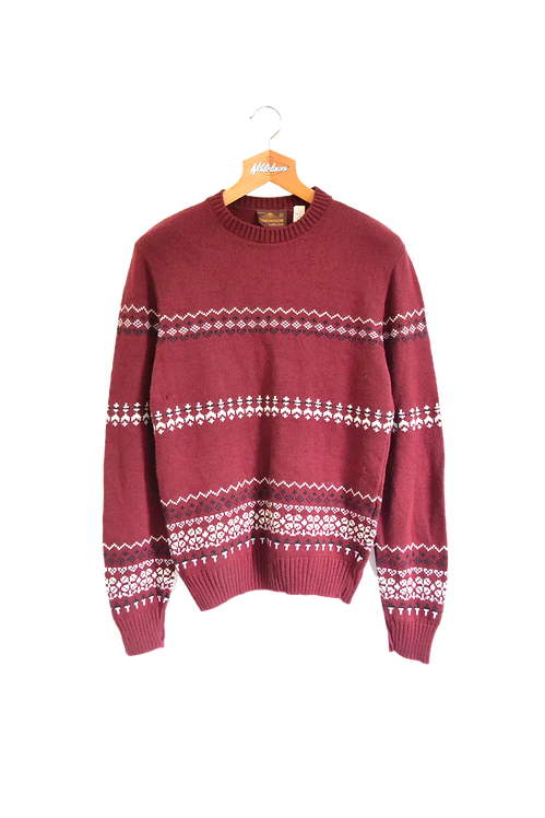 90s USA Made Winter-style Jumper L