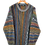 Thumbnail: 3D Knitted Multicoloured 80s Jumper XXL