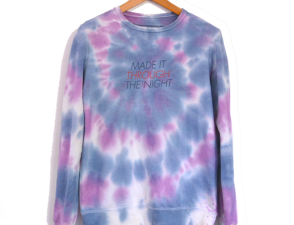 Through the Night Dyed Sweatshirt S