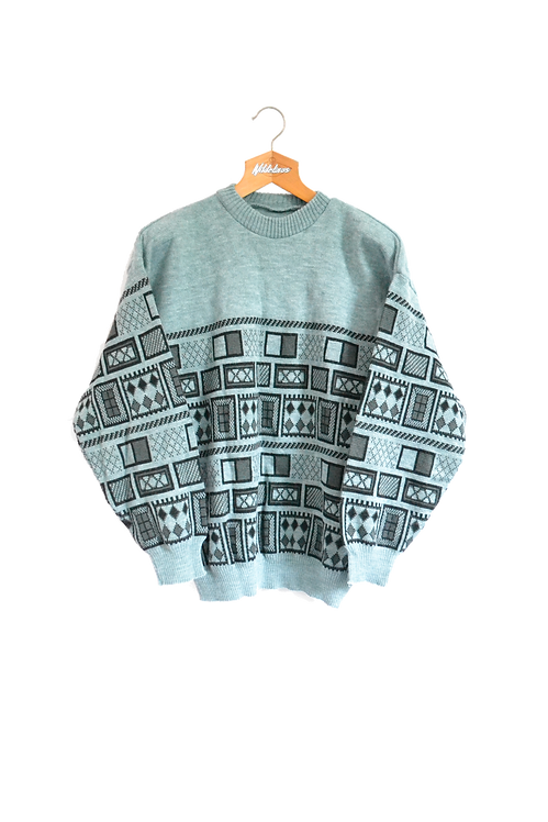 Icelandic Knitted Jumper S