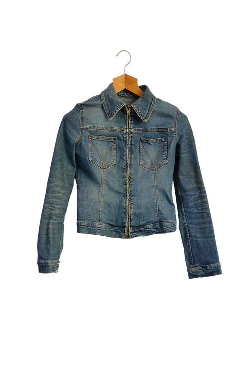 Dolce & Gabbana Denim Jacket XS