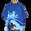 Thumbnail: Super Chill Dude on Big Ass Wave Graphic Shirt XXL