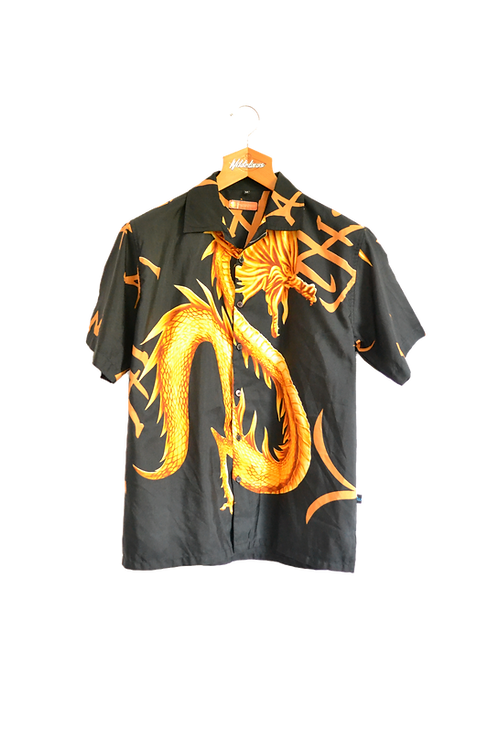 Black 'n Gold Dragonshirt M
